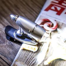 Portable LED Reading Light Clip  Lamp Adjustable Spot Light Rotating bullet clip