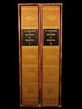 1788 1st ed History of Sumatra Indonesia William Marsden Voyages 2v SET Asia