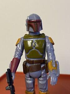 Vintage Star Wars BOBA FETT COMPLETE ORIGINAL HK KENNER 1979 NICE!!