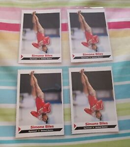 SIMONE BILES 2014 Sports Illustrated SI for Kids  Gymnastics ROOKIE 🔥Lot of 4🔥