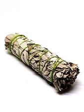 """White Sage Smudge Stick Wand Californian 4"""" / 4.5"""" Approx American Indian"""