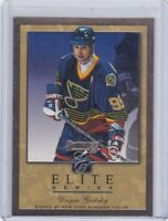 WAYNE GRETZKY 1996-97 DONRUSS ELITE SERIES INSERT GOLD #1281/2000 #2 BLUES