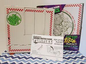 Teenage Mutant Ninja Turtles TMNT Pop-Up Pizza Subway Scene Playset RRP $49.95
