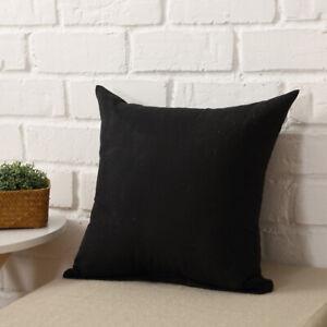 Red Christmas Pillow Case 45cm*45cm Square Cushion Cover Happy Christmas Sofa c