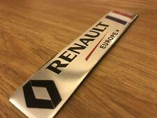 RENAULT Motorsport 3D Metal Sport Badge Emblem Sticker Decal Clio Kadjar Megane