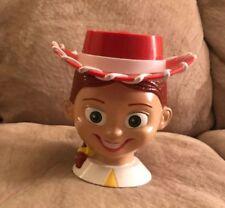 "Disney On Ice Toy Story Cowboy Jess Flip top Lid Cup 5 1/2"" T Mug Walt Disney"