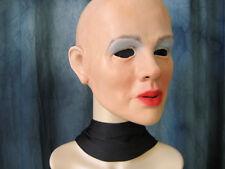 Latex mask KIM - Real. Female Rubber Gum Woman Face Transgender Crossdresser