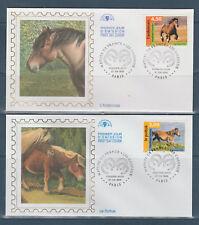 timbre France enveloppe 1er jour nature les chevaux 75 Paris  1998