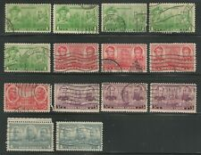 USA Stamps - Scott no 790-793 - Navy Issue - Cancels study - used --