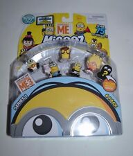 DESPICABLE ME MINEEZ SERIES 1 SIX PACK FREE SHIPPING IN HAND AND READY TO MAIL