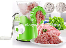 Manual Crank Meat Grinder Machine Multifunctional Green Household Kitchen Tools