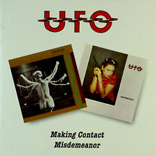 2x CD - UFO  - Making Contact / Misdemeanor - #A1084