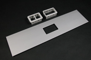WIREMOLD ALA-ABRT  RT SERIES AB COVER PLATE ISODUCT ALUMINUM ALA4800 COVER PLATE