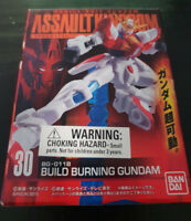 MOBILE SUIT GUNDAM BANDAI BUILD BURNING FIGURINE! ABOUT 10CM TALL BOX KIDS TOY!