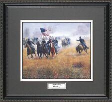 Mort Kunstler DILGER AT GETTYSBURG Framed Print Civil War Wall Art Gift