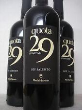 3 FL QUOTA 29 Primitivo 2015 trocken MENHIR IGP Salento Probierpaket Weinprobe