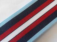 "Arctic Star Full Size Medal Ribbon, Army, British, Military, 10"", 25cm,WW1, WW2"
