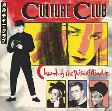 "CULTURE CLUB - Church Of The Poison Mind (UK 2 Trk 1983 7"" Single PS)"