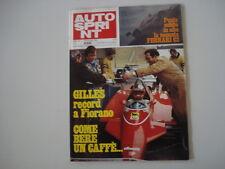 AUTOSPRINT 2/1982 SERVIZIO BMW 745i 745 i
