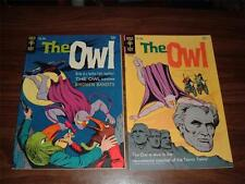 The Owl  1 fn, 2 vf- (lot of 2 comic books-complete set)
