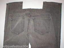 New J Brand Jeans Gray 24 Pencil Skinny 912 Womens 34 in Low Rise Tall Long USA