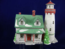 Dept 56 New England Village Series Craggy Cove Lighthouse 5930-7