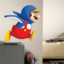 SUPER MARIO BROS WII Penguin wall stickers MURAL 34 inches tall decal Nintendo