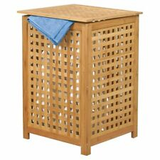 MSV Bamboo Linen Basket 140647