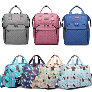 Maternity Mummy Changing Bag Backpack Baby Diaper Nappy Multi-Function Rucksack
