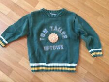 Tom Tailor - Kinder Strickpullover - Grün -  Gr. 92-98