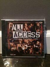 ALL ACCESS FRONT ROW Backstage Live Verizon Promo NEW SEALED Sheryl Crow + BONUS
