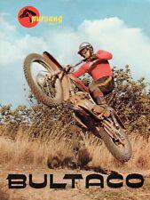 Bultaco Pursang Mk4 250 Brochure, 1969, 1970, Original