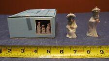 Cute Lladro $ 5729 2pc Mini Kings Ornaments Set-Retired w/ Original Box-As Is