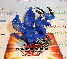 Bakugan Lumino Dragonoid Blue Aquos Gundalian Invaders DNA 610G & cards