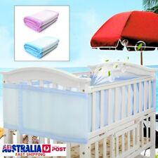 2pcs baby bumpers Cot Crib Air Mesh Pad Breathable Summer Safety Protector Kids