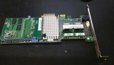 IBM SERVERRAID L3-25422-27E Controller + 1GB FLASH CARD FRU 90Y4449 SATA-SAS