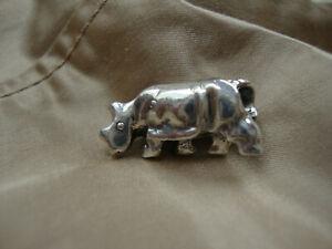 Original Trollbeads Nashorn Rhinozeros Retired