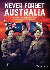 Never Forget Australia (DVD, 2017)