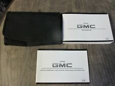 2008 GMC Acadia Owners Manual With Case OEM Free Shipping