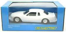 Scalextric White Ford Thunderbird Stock Car DPR 1/32 Slot Car C4077