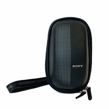 SONY ORIGINAL LCM-EMA SEMI-SOFT CAMERA CASE IN BLACK EXCELLENT CONDITION