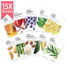 THE FACE SHOP Real Nature Mask Sheet 15pcs