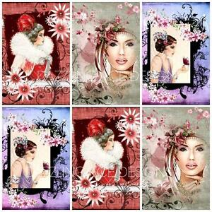 MISTY MOMENTS ART DECO Embellishments, Card Making Toppers, Card Toppers (12)