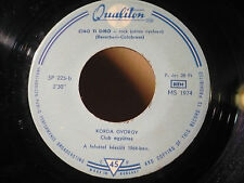 "KORDA sung Adriano Celentano Ciao ti dirò covers 1964 Hungary single 7"" ×LISTEN×"