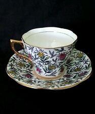 Vintage Rosina England china tea cup & saucer, circa 1940's