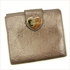 Auth GUCCI Double Sided Wallet GUCCI Shima Women''s used J13968