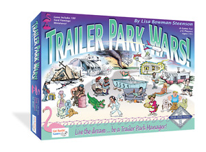 Two Games: Trailer Park Wars Games! & Oh Gnome You Don't! Board Game Combo Pack!