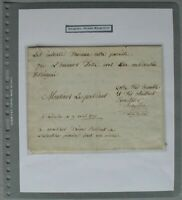 s2161) Etienne Montgolfier - Autograph - Brief datiert 9. April 1790