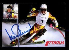 Vreni Schneider Autogrammkarte Original Signiert Ski Alpine+ A 162774