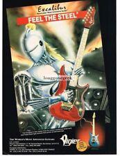 1994 VIGIER Excaliber Electric Guitar Robot Vtg Print Ad